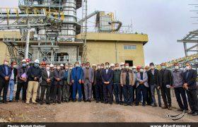 تصویری/ حضور مدیرعامل شرکت ملی صنایع مس ایران در کارخانه آهک هیدراته و معدن مس سونگون
