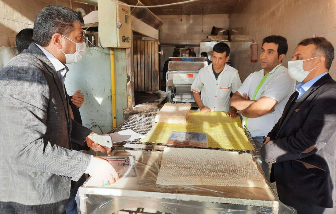 کمفروشی نانواییهای اهر محرز شد/ ۶ واحد متخلف در اهر پلمب و ۳ نانوایی تشویق میشوند