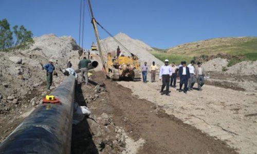 فاز اول پروژه خط انتقال گاز ورزقان و اهر به بهرهبرداری میرسد