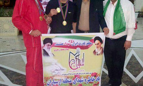 یوسف بابالویان مدال طلای مسابقات کونگ فو توآ سنتی جمهوری آذربایجان را کسب کرد