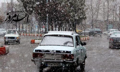 روز طبیعت مردم اهر، کلیبر و ورزقان خانهنشین شدند/ بارش برف در ارسباران