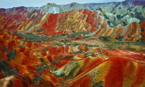 کوه های «آلاداغلار» آذربایجان (جاده اهر-تبریز) که برای دیدنش باید تا چین بروید