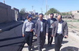 معابر ۵ روستای شهرستان اهر به متراژ ۲۳ هزار مترمربع آسفالتریزی میشود
