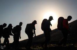 سومین صعود سراسری کارگران کشور به قله فندقلو اهر