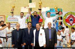 اولین دوره مسابقات قهرمانی کیوکوشین کاراته کشور در اهر برگزار شد/ علیجانپور: اهر قابلیت میزبانی از مسابقات ورزشی کشوری را دارد