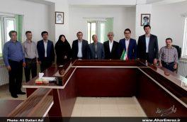 اولین جلسه رسمی اعضای پنجمین دوره شورای اسلامی شهر اهر به روایت تصویر