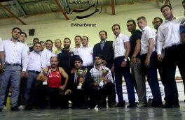 مسابقات کیک بوکسینگ آذربایجان شرقی در اهر برگزار شد