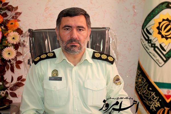 دستگیری سارق یک فقره سرقت منزل در اهر