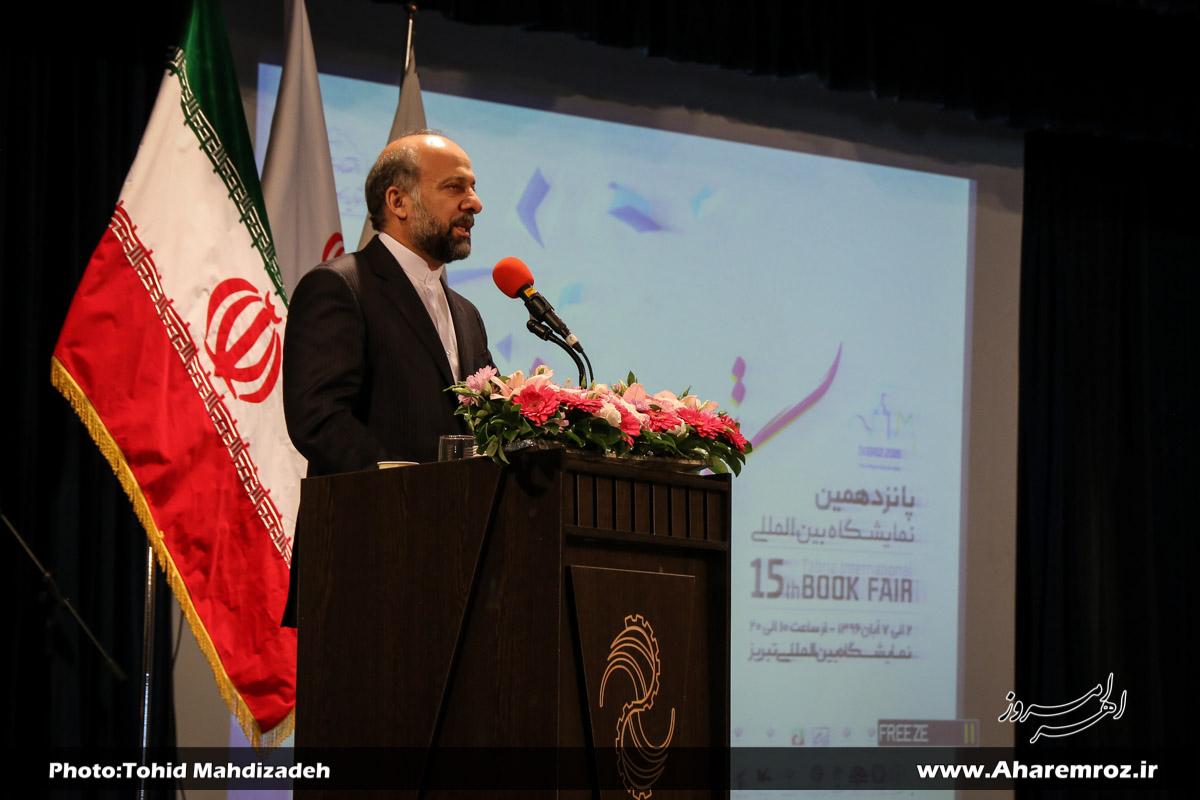 نمایشگاه بینالمللی کتاب تبریز ظرفیت ویژهای برای معرفی تبریز دارد