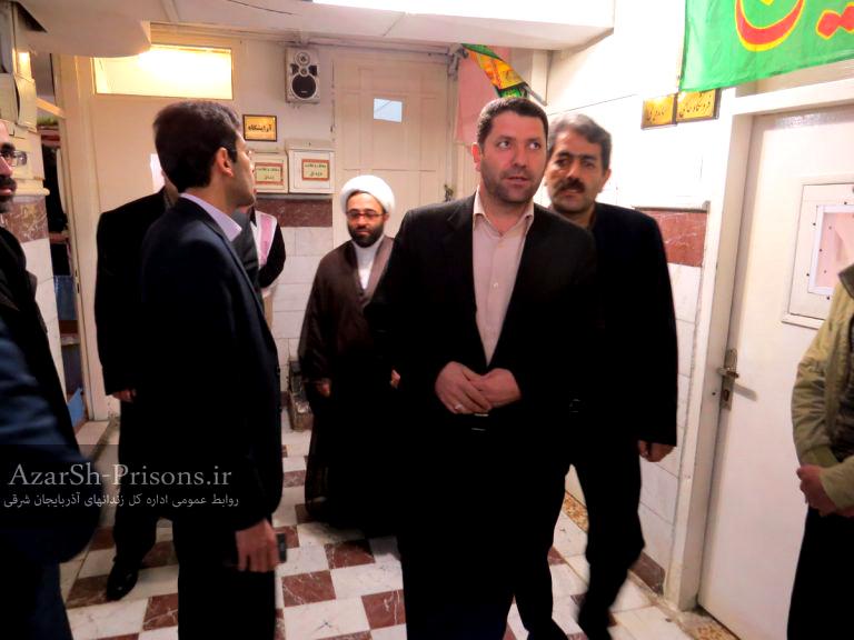 بازدید دادستان جدید شهرستان از زندان اهر