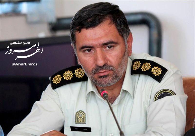دستگیری یک سارق با ۱۲ فقره سرقت در اهر