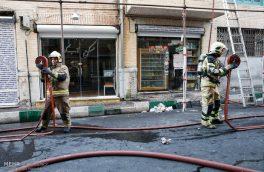 آتش سوزی در بازار امیر کبیر تبریز/ سه نفر دچار سوختگی شدند