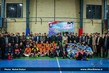پایان مسابقات ورزشی کارگران شهرستان اهر جام شهید اصغرزاده/ تیم شبکه بهداشت و درمان اهر به مقام اول رسید
