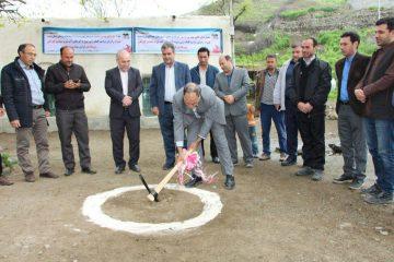 پروژه مجتمع آبرسانی به روستاهای گاوآهن و پیرهادیان کلنگ زنی شد