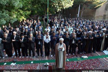اقامه نماز عید فطر اهر در پارک شیخ شهاب الدین در صورت مساعد بودن هوا