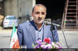 آرد کیارش آرد شهرستانهای ارسباران را تأمین میکند