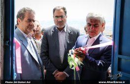 تصویری/ افتتاح طرح آبرسانی به روستای یوزباشلو اهر