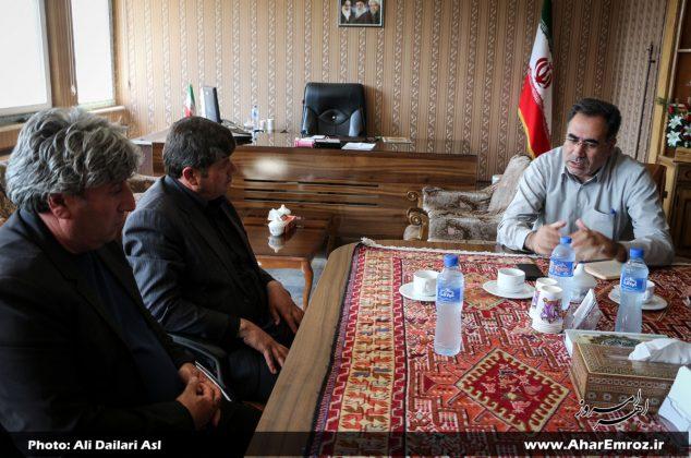 تصویری/ دیدار عمومی فرماندار شهرستان اهر با مردم (۴ مهر ماه ۱۳۹۷)