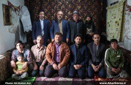 تصویری/ دیدار با خانواده معظم شهدا به مناسبت روز ملی روستا و عشایر