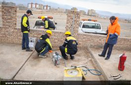 مانور پدافند غیرعامل با رویکرد زلزله، آتشسوزی و تخلیه ساختمان گاز در اهر برگزار میشود