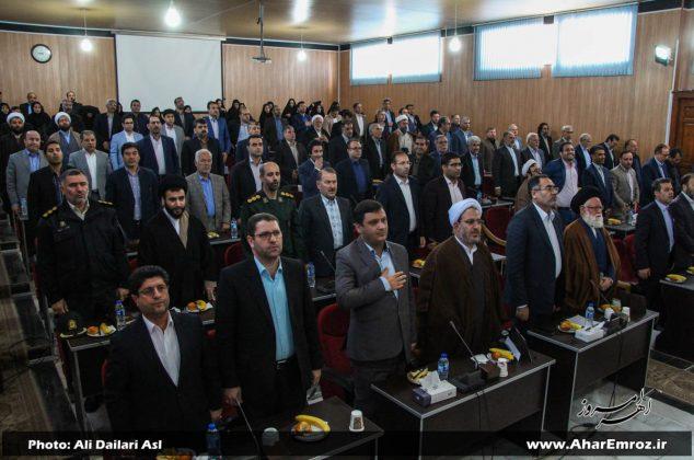 تصویری/ جشن نیمه شعبان و آیین تجلیل از قضات حائز رتبه برتر منطقه ارسباران