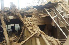 نجات زن ۵۰ ساله از زیر آوار با تلاش دو ساعته آتش نشانان اهر