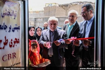 ۵۶ واحد مسکن مددجویان بهزیستی آذربایجان شرقی در شهرستان اهر افتتاح شد