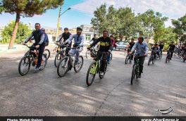 برگزاری برنامه های موثر سبب گرایش شهروندان اهری به دوچرخه سواری شده داست