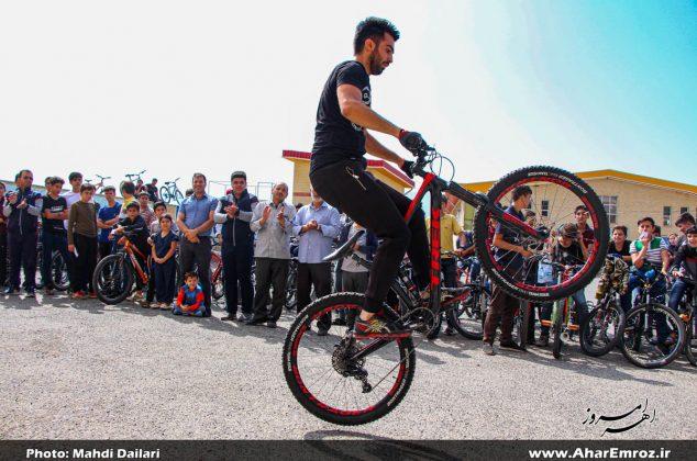 تصویری/ همایش عمومی دوچرخه سواری در اهر
