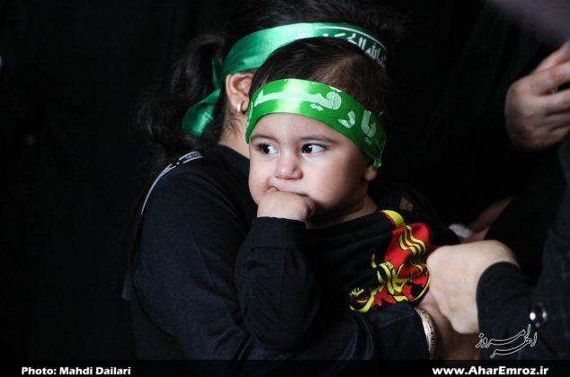 تصویری/ همایش شیرخوارگان حسینی در شهرستان اهر