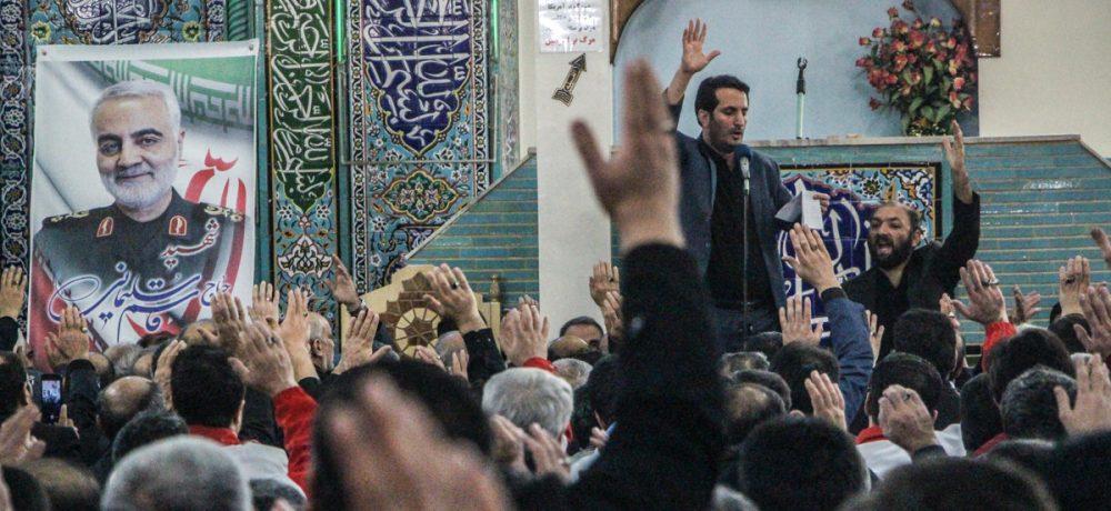 تصویری/ مجلس گرامیداشت سپهبد شهید حاج قاسم سلیمانی در اهر