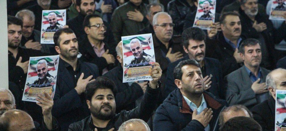 تصویری/ مجلس گرامیداشت سپهبد شهید حاج قاسم سلیمانی در اهر (۲)