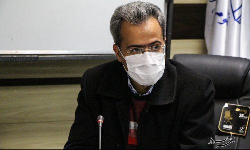 نصب تندیس بنیانگذار طب کودکان ایران در بیمارستان باقرالعلوم اهر