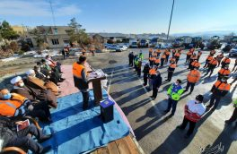 تجلیل از فعالان راهداری و حمل و نقل جادهای اهر/ کاهش ۲۳ درصدی تصادفات منجر به فوت در جادههای اهر