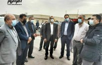 اولین بازدید دکتر سعد محمدی مدیرعامل شرکت ملی صنایع مس ایران از طرح های توسعه کارخانه آهک اهر